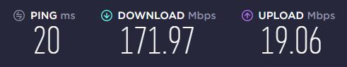 speedtest 3 cavo ethernet